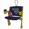 Item # 420505 - West Virginia University Mountaineers Stadium Seat Ornament