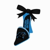 Item # 420529 - Carolina Panthers High Heel Shoe Christmas Ornament