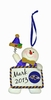 Item # 420634 - Baltimore Ravens Personalizable Snowman Christmas Ornament