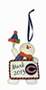 Item # 420643 - Chicago Bears Personalizable Snowman Christmas Ornament