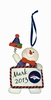 Item # 420650 - Denver Broncos Personalizable Snowman Christmas Ornament