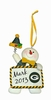 Item # 420706 - Green Bay Packers Personalizable Snowman Christmas Ornament