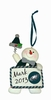 Item # 420746 - Philadelphia Eagles Personalizable Snowman Christmas Ornament