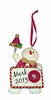 Item # 420751 - San Francisco 49ers Personalizable Snowman Christmas Ornament