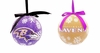 Item # 420756 - Baltimore Ravens LED Ball Christmas Ornament