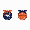 Item # 420760 - Denver Broncos Light Up LED Ball Ornament
