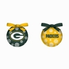 Item # 420762 - Green Bay Packers Light Up LED Ball Ornament