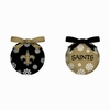 Item # 420764 - New Orleans Saints Light Up LED Ball Christmas Ornament