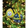 Item # 420769 - Pittsburgh Steelers LED Ball Ornament