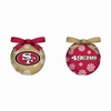 Item # 420770 - San Francisco 49ers LED Ball Christmas Ornament