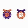 Item # 420774 - Clemson University Tigers Light Up LED Ball Christmas Ornament
