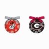 Item # 420776 - University of Georgia Bulldogs Light Up LED Ball Christmas Ornament