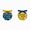 Item # 420786 - West Virginia University Mountaineers Light Up LED Ball Ornament