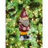 Item # 420815 - Washington Redskins Garden Gnome Christmas Ornament