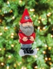 Item # 420819 - University of Georgia Bulldogs Garden Gnome Christmas Ornament