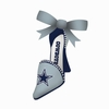 Item # 420830 - Dallas Cowboys High Heel Shoe Christmas Ornament