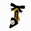 Item # 420836 - Pittsburgh Steelers High Heel Shoe Christmas Ornament