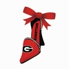 Item # 420841 - University of Georgia Bulldogs High Heel Shoe Ornament