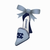 Item # 420842 - University of North Carolina Tar Heels High Heel Shoe Christmas Ornament