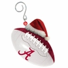 Item # 420864 - University of Alabama Crimson Tide Team Ball With Santa Hat Ornament