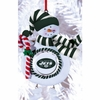Item # 420892 - Claydough New York Jets Snowman Christmas Ornament