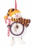 Item # 420896 - Claydough Washington Redskins Snowman Christmas Ornament