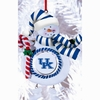 Item # 420901 - Claydough University of Kentucky Wildcats Snowman Ornament