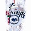 Item # 420906 - Claydough Penn State University Nittany Lions Snowman Christmas Ornament