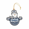 Item # 420947 - Dallas Cowboys Snowman With Sign Christmas Ornament
