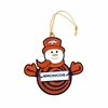 Item # 420948 - Denver Broncos Snowman With Sign Christmas Ornament