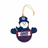 Item # 420952 - New York Giants Snowman With Sign Ornament