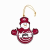 Item # 420966 - Ohio State University Buckeyes Snowman With Sign Christmas Ornament