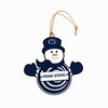 Item # 420967 - Penn State University Nittany Lions Snowman With Sign Ornament
