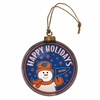 Item # 421002 - University of Florida Gators Team Snowman Disc Christmas Ornament