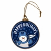 Item # 421005 - University of North Carolina Tar Heels Team Snowman Disc Christmas Ornament
