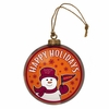 Item # 421009 - Virginia Tech Hokies Team Snowman Disc Christmas Ornament