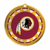 Item # 421028 - Blown Glass Washington Redskins Logo Disc Ornament