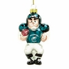 Item # 421083 - Blown Glass Philadelphia Eagles Player Christmas Ornament