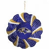 "Item # 421087 - 4.5"" Baltimore Ravens Geo Spinner Ornament"