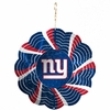 "Item # 421095 - 4.5"" New York Giants Geo Spinner Christmas Ornament"