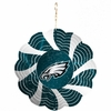 "Item # 421098 - 4.5"" Philadelphia Eagles Geo Spinner Christmas Ornament"