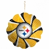 "Item # 421099 - 4.5"" Pittsburgh Steelers Geo Spinner Ornament"