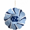 "Item # 421107 - 4.5"" University of North Carolina Tar Heels Geo Spinner Christmas Ornament"