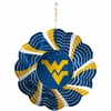 "Item # 421112 - 4.5"" West Virginia University Mountaineers Geo Spinner Ornament"