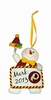 Item # 421119 - Washington Redskins Personalizable Snowman Christmas Ornament