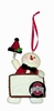 Item # 421126 - Ohio State University Buckeyes Personalizable Snowman Ornament