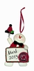Item # 421127 - University of South Carolina Gamecocks Personalizable Snowman Ornament