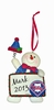 Item # 421133 - Philadelphia Phillies Personalizable Snowman Christmas Ornament