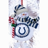 Item # 421149 - Claydough Indianapolis Colts Snowman Christmas Ornament