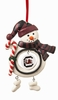 Item # 421152 - University of South Carolina Gamecocks Snowman Ornament